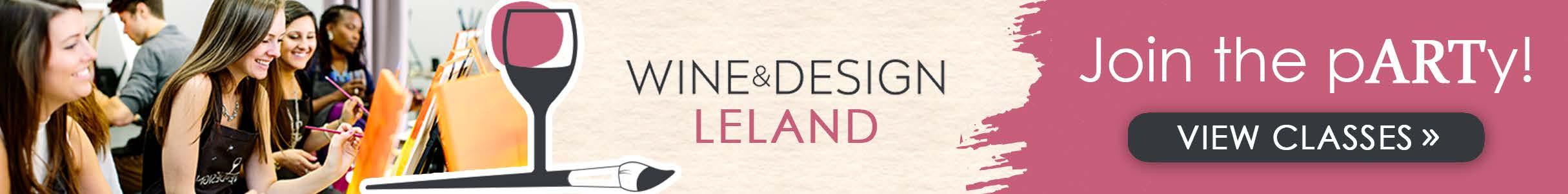 Sponsored by Wine and Design - Leland NC