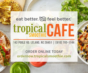 Sponsored by Tropical Smoothie Cafe