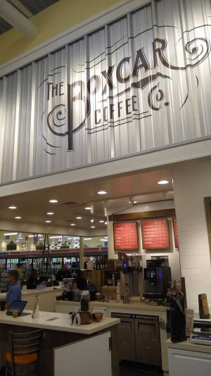 The Boxcar Coffee Co. at Lowes Foods in Southport, NC