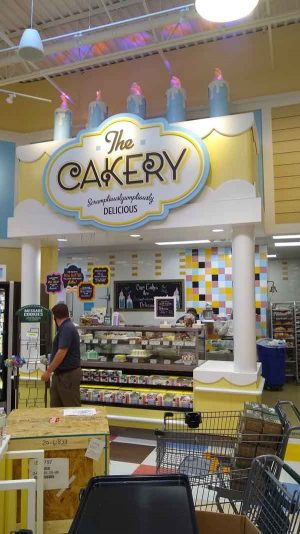 The Cakery at Lowes Foods in Southport, NC
