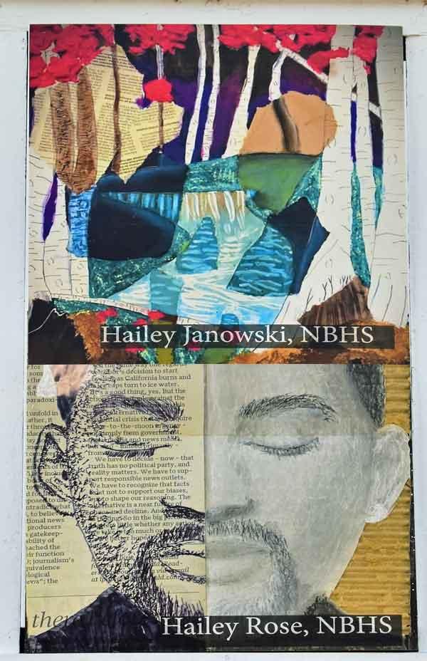 Hailey Janowski & Hailey Rose - North Brunswick High School Leland NC
