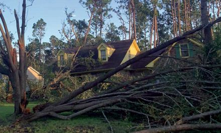 Tornado Hits Belville, BEMC Restoring Power in Brunswick County
