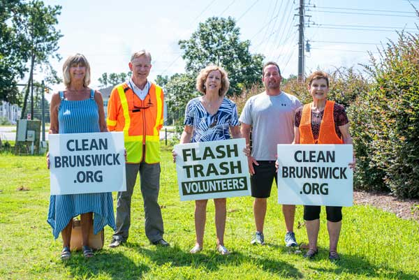 Clean Up Brunswick Crew NC