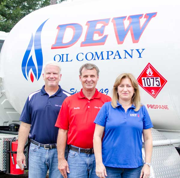 Dew Oil Company 70 Years NC