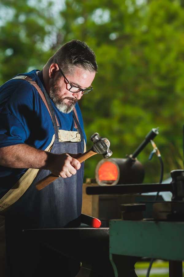 Leland NC Knife Maker Nicholas Nicols