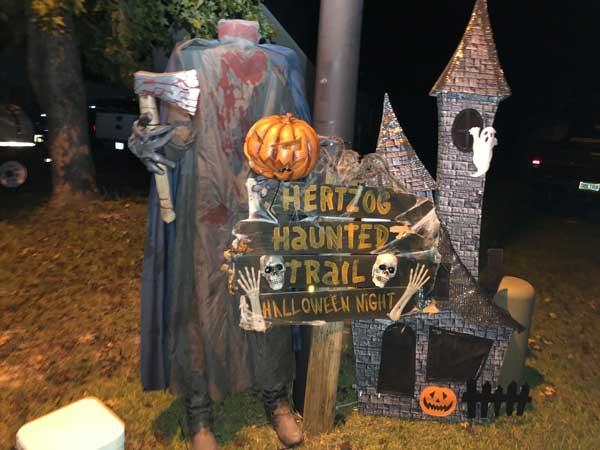 Hertzog Haunted Trail Brunswick NC