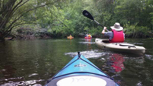 Kayak Tours Leland Parks and Rec NC