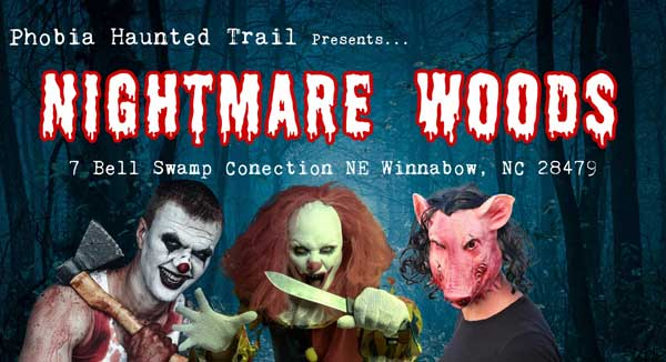 Nightmare Woods Winnabow NC Brunswick County Halloween