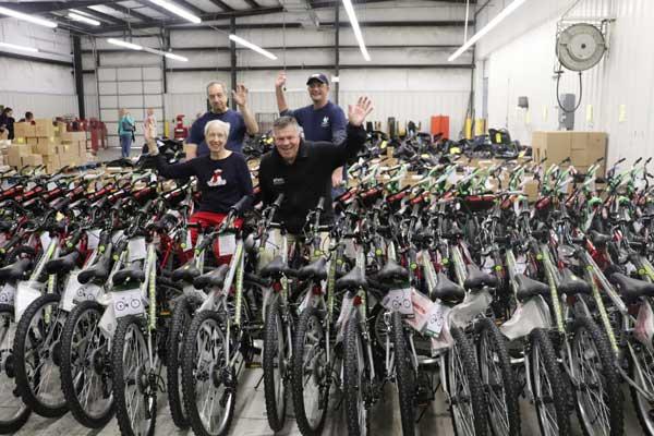 Bikes Fundraiser Brunswick Family Assistance