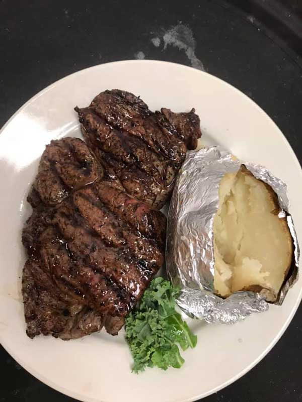 Chances Steak and Sea Menu Item