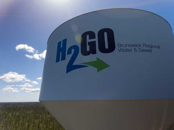 H2GO Water Tower Brunswick County NC