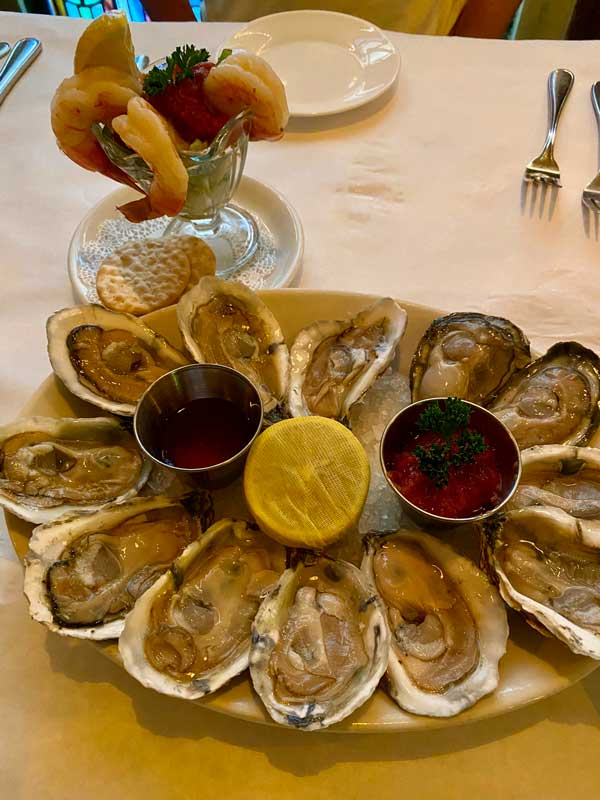 Oysters Parsons Table Little River SC