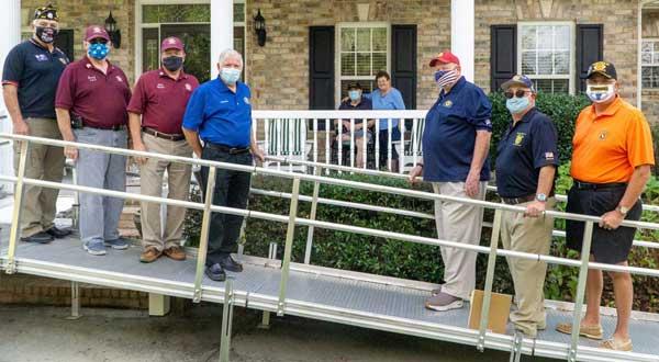 Brunswick NC Vet Ramp Volunteers