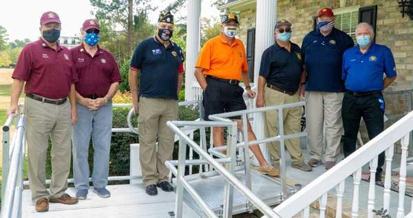 Building Ramps For Vets Volunteers