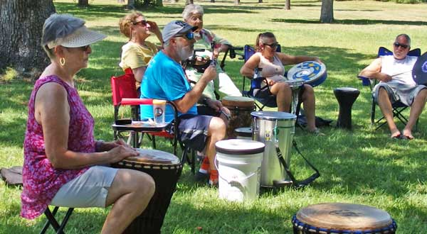 Drum Circle Southport NC