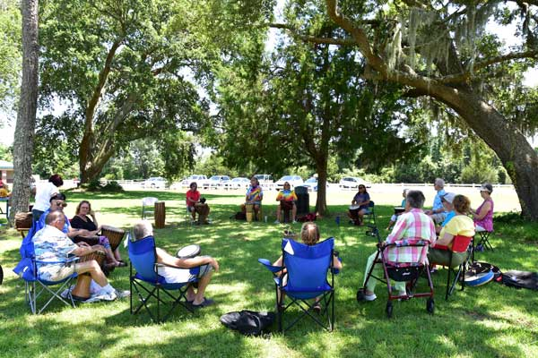 Southport NC Drum Circle Players