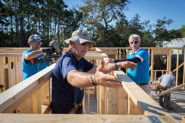 Brunswick County Habitat for Humanity Volunteers