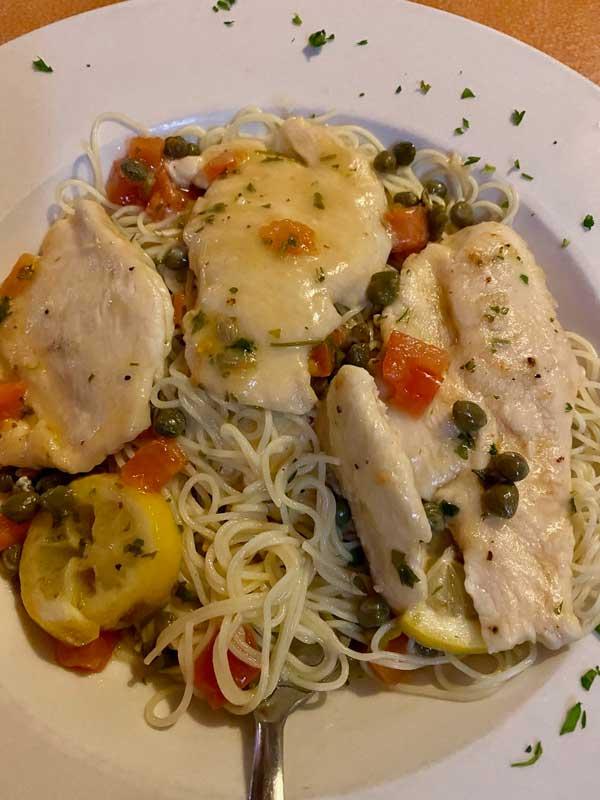 Chicken Picata Robertos Ocean Isle Beach