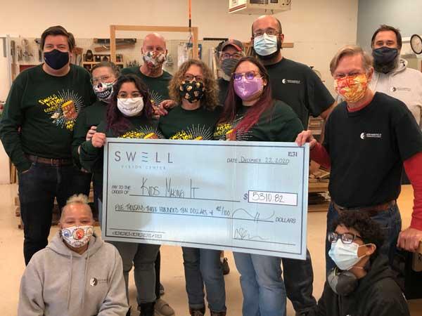 Kids Making It Swell Donation