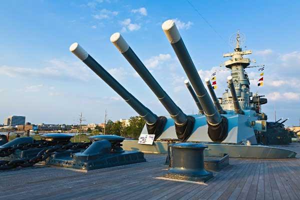 Wilmington NC USS Battleship