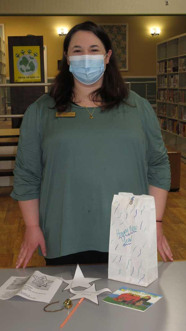 Kristyna Brunswick NC Library Covid