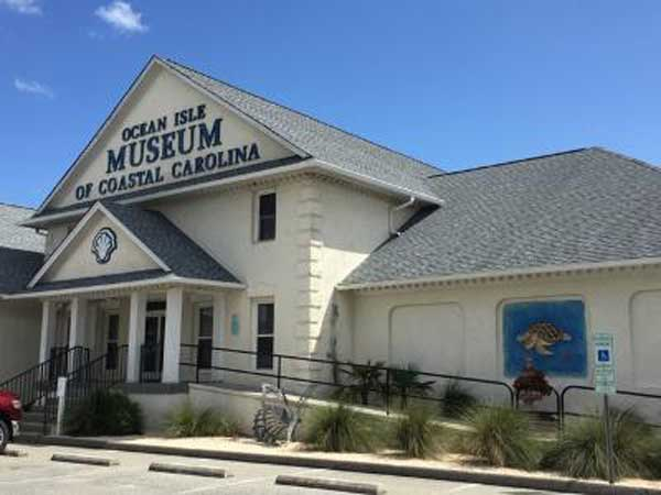 Ocean Isle Museum of Coastal Carolina NC