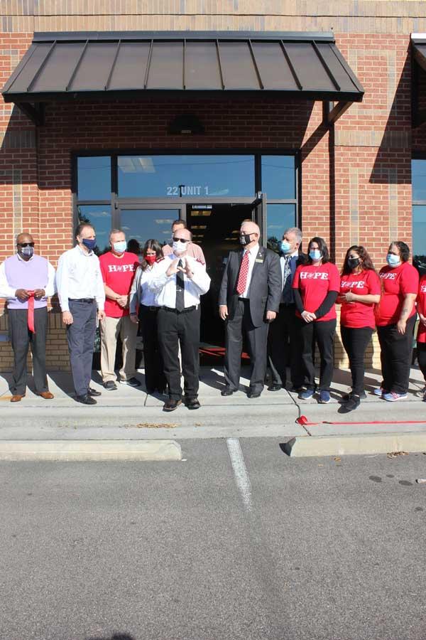 Salvation Army Ribbon Cutting Leland NC