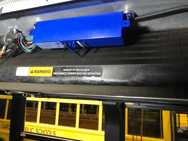 School Bus Air System Brunswick County NC