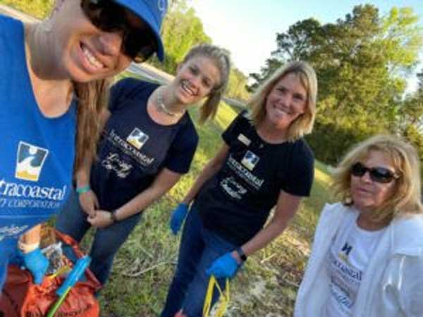 Melony Rice Spring Litter Cleanup