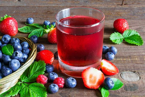 Very Berry Infused Vodka