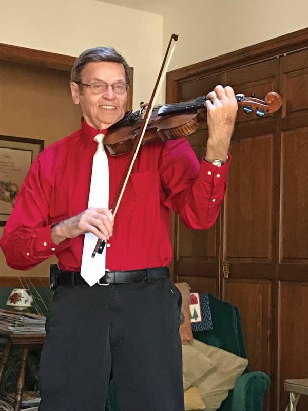 Curtis Lee Fiddle Player Brunswick NC