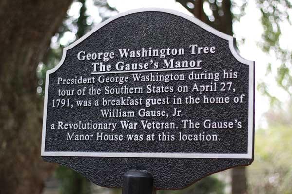 George Washington Tour OIB NC