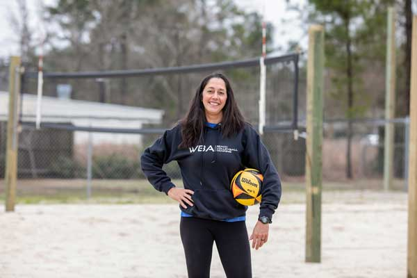 Gina Kiersten Volleyball Brunswick NC