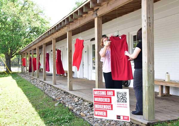 Red Dress for MMIW Brunswick NC