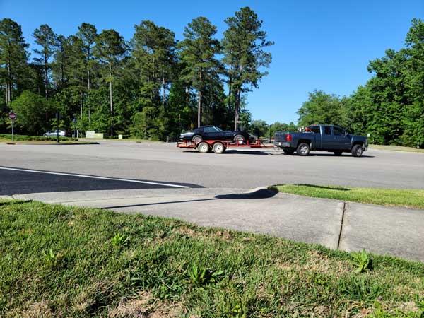 Roundabout Leland NC Brunswick Forest