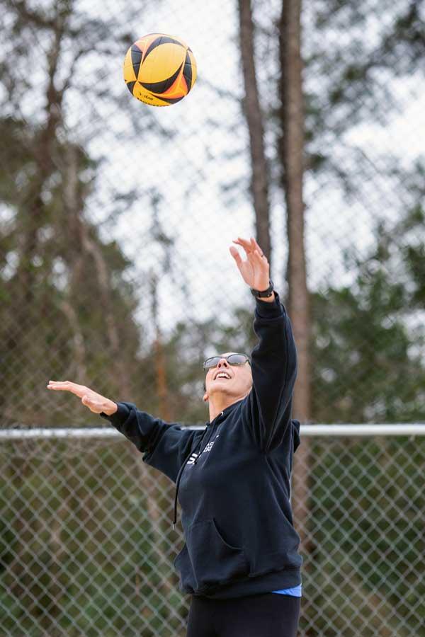 Volleyball Center Brunswick NC Gina Kiersten