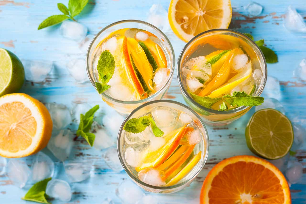 Vodka Infused with Citrus