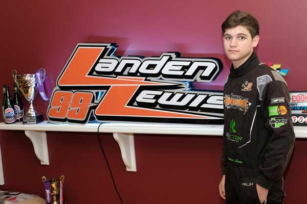 Landen Lewis 99 Racecar