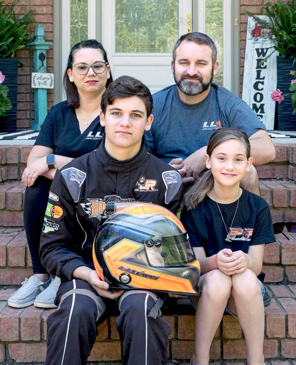 Landen Lewis and Family Brunswick NC