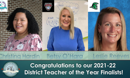 Teacher of the Year Finalists