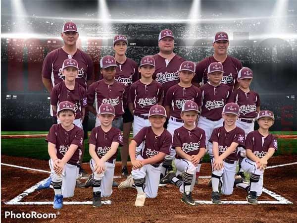 Leland NC All Star Baseball Team