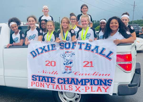 Softball Dixie State Champions Leland NC