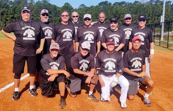 Brunswick Senior Softball Team NC