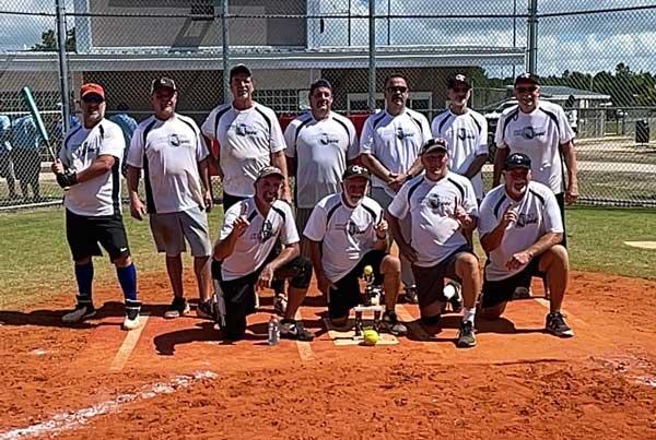 Coastal Tire Senior Softball Team NC
