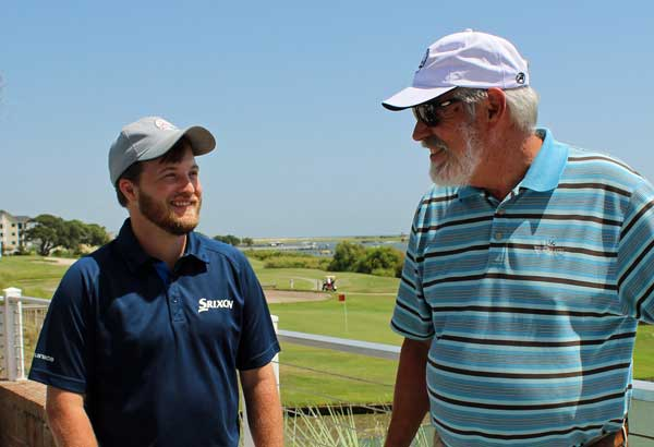Trey Maugh Ken Mcgill Brick Landing Golf NC