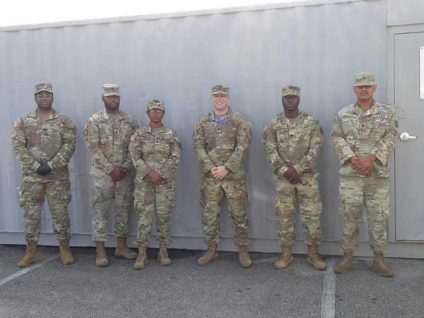 COVID19 Brunswick NC National Guard