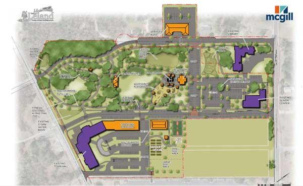 Founders Park Site Plan
