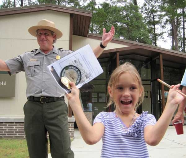 Junior Ranger Moores Creek NC